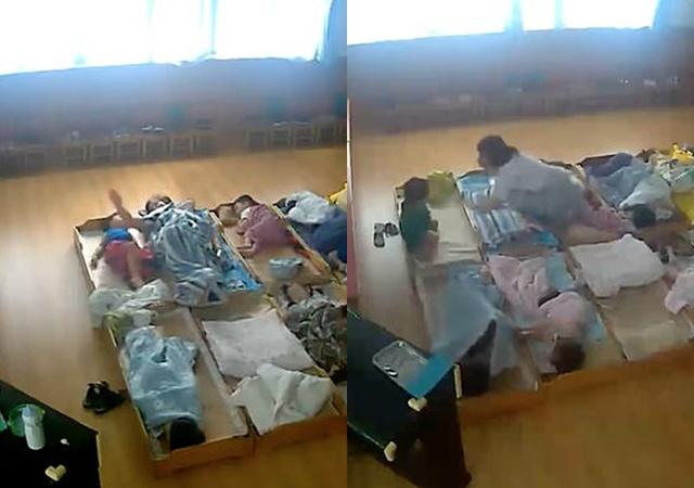 Con trai 3 tuổi bị rạch mặt khi đi học về, bố sốc nặng khi kiểm tra camera trong lớp - Ảnh 1
