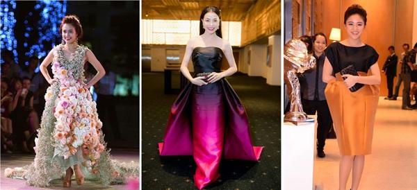 Đỗ Mỹ Linh lần đầu mặc xấu với váy cấu trúc khác lạ, biến body chữ S thành hình vuông - Ảnh 13