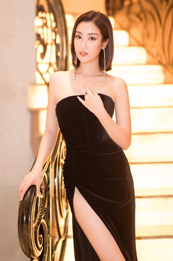 Đỗ Mỹ Linh lần đầu mặc xấu với váy cấu trúc khác lạ, biến body chữ S thành hình vuông - Ảnh 2