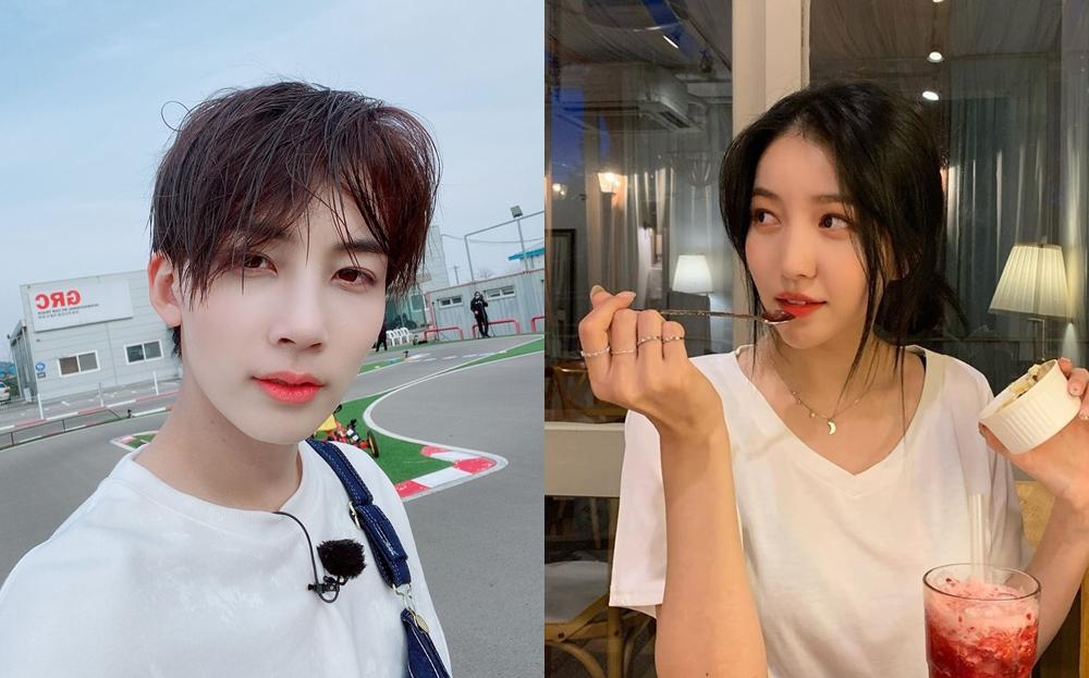 Jeong Han (Seventeen) và So Won (GFriend) bị soi loạt bằng chứng hẹn hò - Ảnh 1