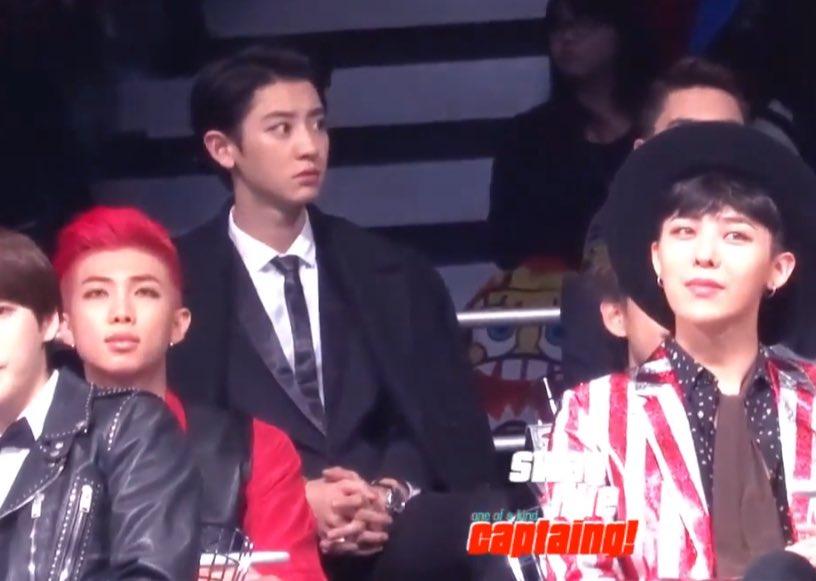 RM bị chê xấu khi chung khung hình với GDragon - Chan Yeol - Ảnh 1