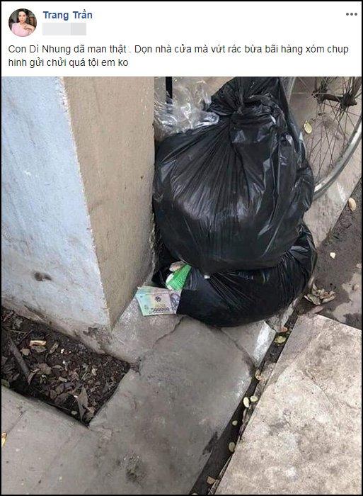 Dọn nhà đón Tết giúp Trang Trần, người thân 'tiện tay' vứt luôn xấp tiền dày cộp - Ảnh 1