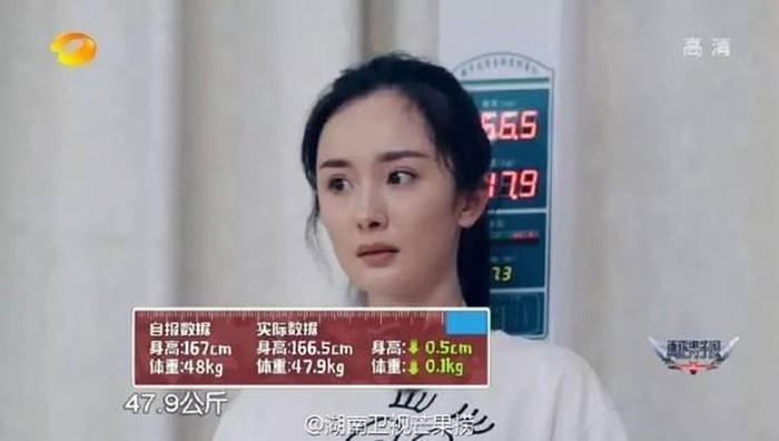 'Bóc mẽ' chiều cao thực tế của loạt sao nữ Hoa ngữ - Ảnh 1