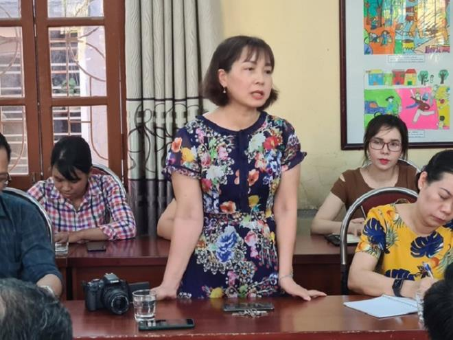 Dân mạng 'sục sôi' đòi đuổi việc cô giáo ở Hải Phòng phê bình học sinh đến sớm - Ảnh 1