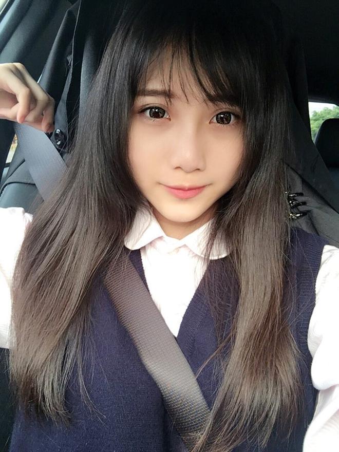 Khoe mặt mộc xinh như tiên tử, hot girl Đài Loan khiến ai nhìn cũng phát mê - Ảnh 3