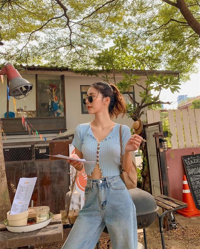Mặt xinh - da trắng- dáng xinh lại biết cách ăn mặc, hot girl Thái Umiko Tsuchiya khiến triệu cô gái ghen tị, đàn ông 'đứng hình' - Ảnh 4