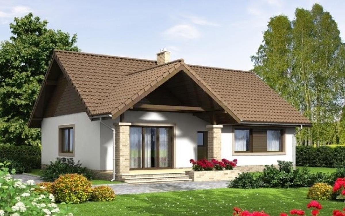 Những mẫu nhà cấp 4 cực đẹp và hiện đại với chi phí chỉ từ 200 triệu đồng - Ảnh 5