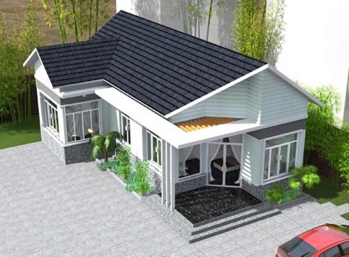 Những mẫu nhà cấp 4 cực đẹp và hiện đại với chi phí chỉ từ 200 triệu đồng - Ảnh 6