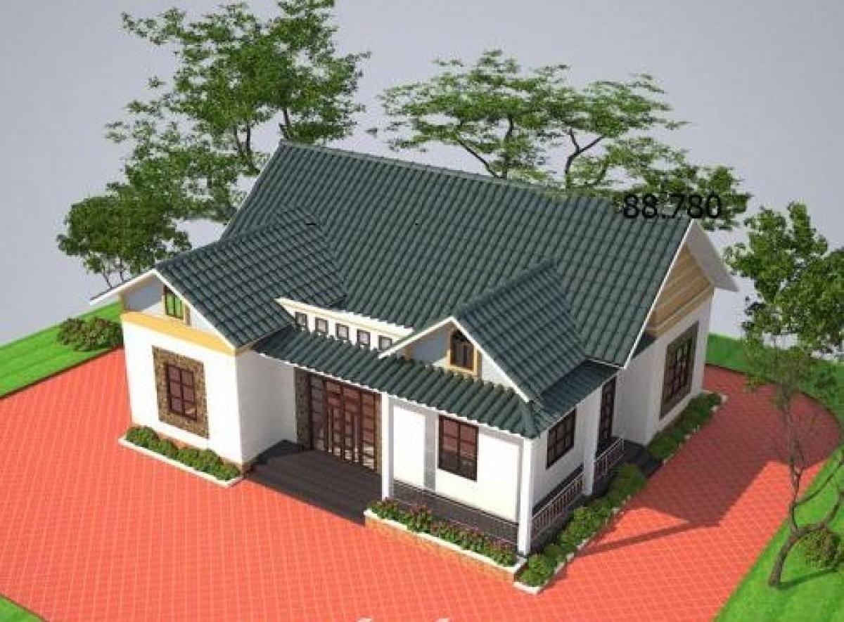 Những mẫu nhà cấp 4 cực đẹp và hiện đại với chi phí chỉ từ 200 triệu đồng - Ảnh 7