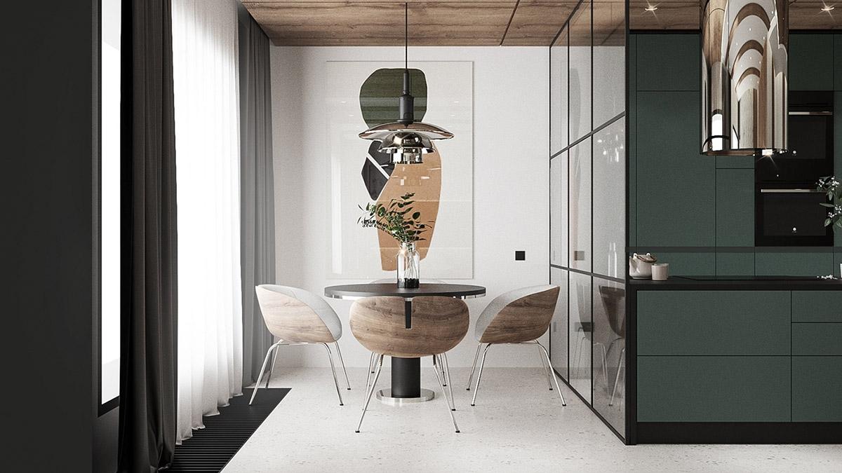 Tham khảo những mẫu bàn ghế ăn nhỏ mà trang nhã tuyệt vời - Ảnh 1