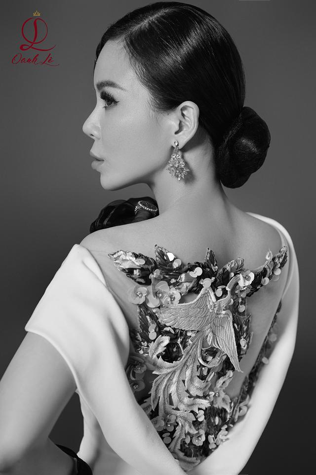 Hoa hậu Oanh Lê tung bộ ảnh đẹp từng centimet nhưng đôi mắt mới là điểm nhấn ấn tượng - Ảnh 5