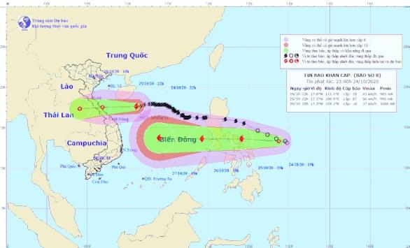 Áp thấp nhiệt đới sẽ thành bão số 9 đi vào Biển Đông, mạnh và nguy hiểm hơn bão Damrey năm 2017 - Ảnh 1