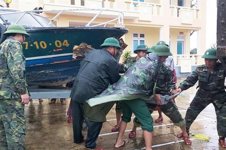 Bão số 8 sẽ gây mưa to tại các tỉnh từ Nghệ An đến Thừa Thiên Huế - Ảnh 1