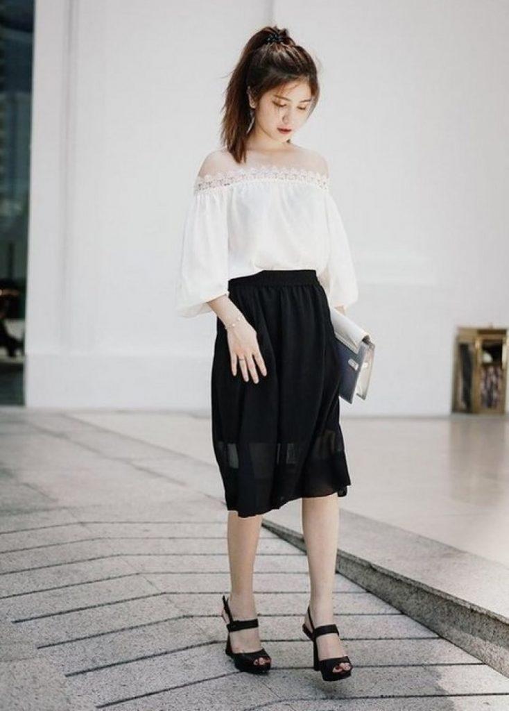 Người thấp có nên mặc chân váy dài? Câu trả lời sẽ khiến bạn phải bất ngờ - Ảnh 17