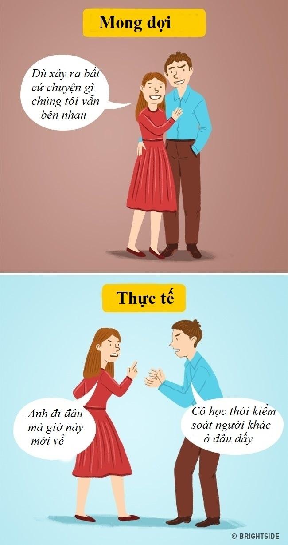 Bộ tranh: Sự thật phũ phàng nhưng đúng đừng hỏi về tình yêu ai rồi cũng sẽ đối mặt - Ảnh 3