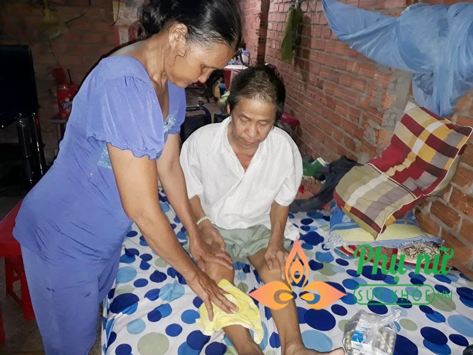 Lời khẩn cầu của người vợ nghèo đi làm giúp việc, xin cộng đồng giúp đỡ để chồng có cơ hội phẫu thuật căn bệnh nguy hiểm - Ảnh 1