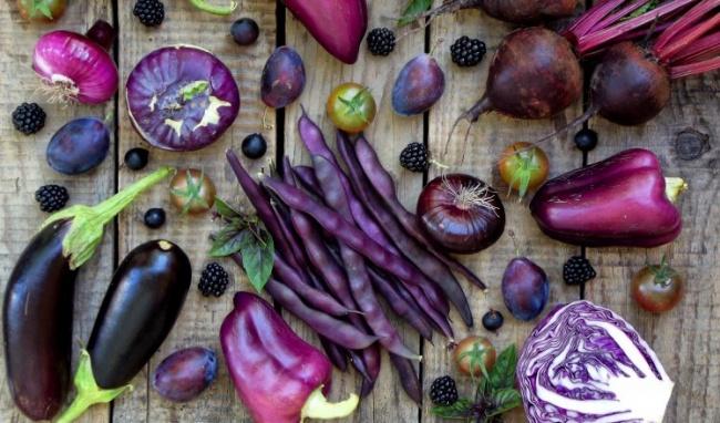 Lợi ích đặc biệt từ rau củ quả màu tím bạn ăn hàng ngày - Ảnh 1