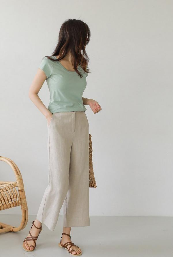 Những kiểu quần dài cứ mặc là đẹp là mát bất chấp nắng nóng thế nào - Ảnh 2
