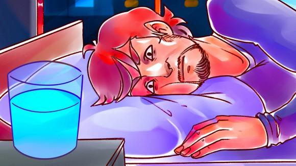 Tại sao bạn nên tránh để một ly nước gần giường? - Ảnh 5