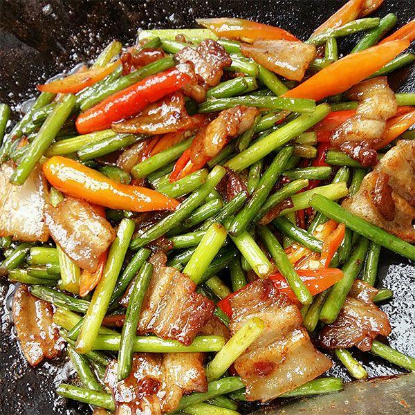 Thịt ba chỉ rang cháy cạnh với loại rau này, người khó tính mấy cũng khen ngon - Ảnh 5
