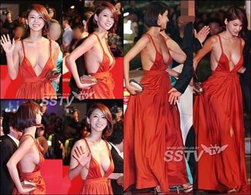 Những màn hở bạo tại lễ trao giải đi vào lịch sử showbiz Hàn - Ảnh 4