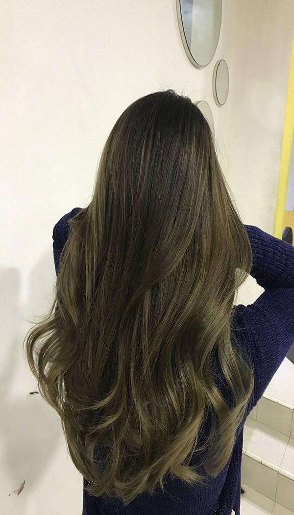 Những màu tóc rêu vàng giúp ăn gian tuổi đỉnh cao dịp cuối năm 2020 - Ảnh 8