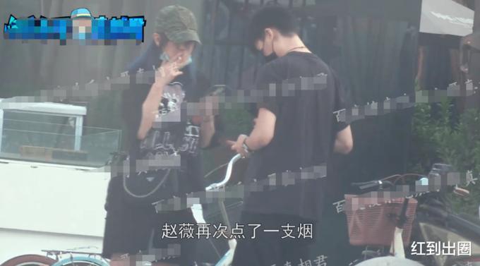 Triệu Vy bị bắt gặp đưa trai trẻ về nhà riêng - Ảnh 2