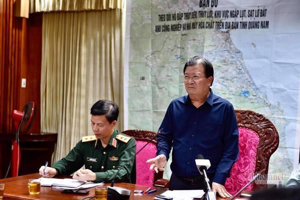 Sạt lở đất vùi lấp 53 người ở Quảng Nam, đã tìm thấy 7 thi thể - Ảnh 1