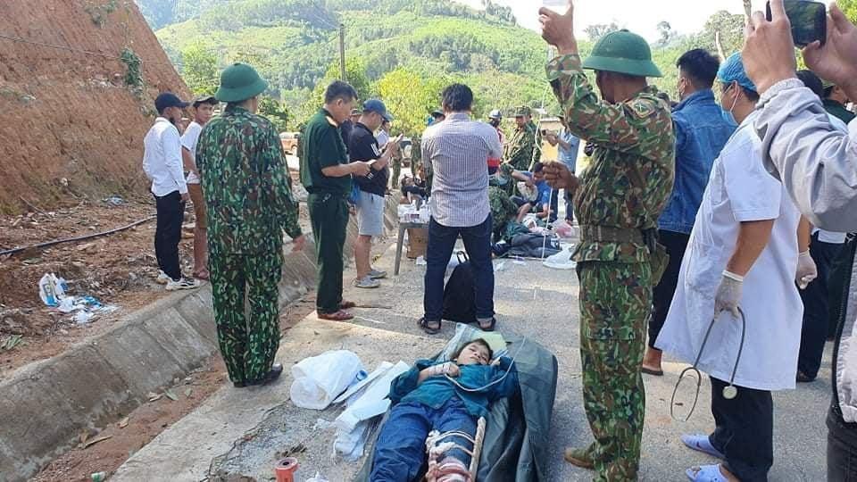Tìm thấy 33 người sống sót trong vụ sạt lở đất ở Trà Leng – Quảng Nam - Ảnh 1