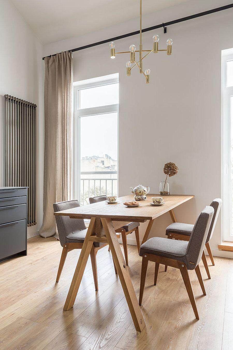 Căn hộ nhỏ xíu cực xinh xắn với tầng lửng màu đen và trắng ấn tượng - Ảnh 6