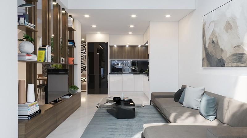 Tầng lửng, giải pháp hữu ích cho những ngôi nhà ở đô thị - Ảnh 2