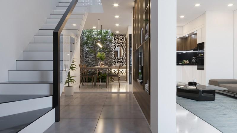 Tầng lửng, giải pháp hữu ích cho những ngôi nhà ở đô thị - Ảnh 3