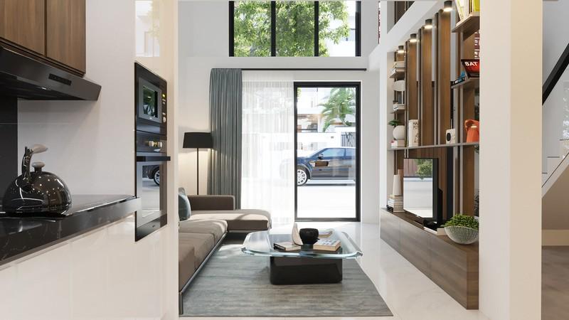 Tầng lửng, giải pháp hữu ích cho những ngôi nhà ở đô thị - Ảnh 1