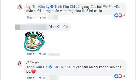 Bị mỉa mai 'bà cô già đu bám' Mai Phương, Trịnh Kim Chi gọi thẳng Trà My là 'thành phần Chí Phèo' - Ảnh 3