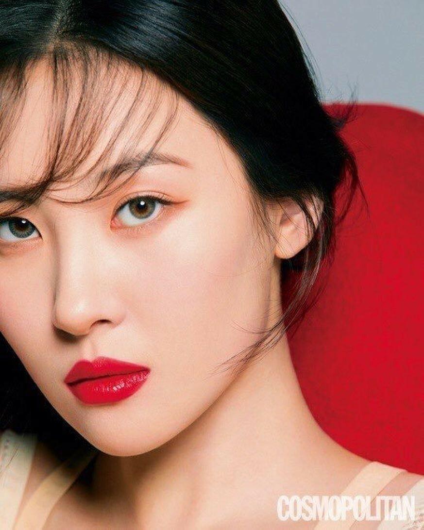 Khí chất khác biệt của 5 mỹ nhân Hàn 'cuồng' son đỏ - Ảnh 15