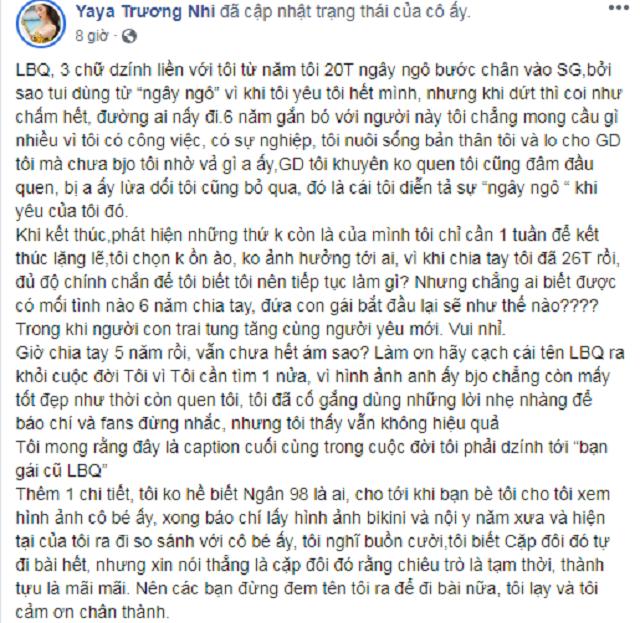 """Hot girl Ngân 98 và những màn """"cà khịa"""" cả showbiz Việt - Ảnh 2"""