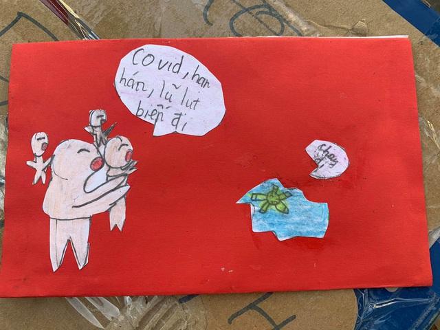 Cảm động bức thư của học sinh lớp 5 ở Hà Nội gửi các bạn vùng lũ - Ảnh 1
