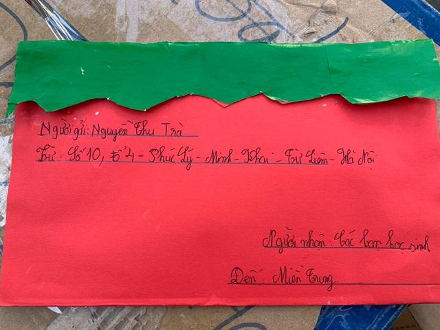 Cảm động bức thư của học sinh lớp 5 ở Hà Nội gửi các bạn vùng lũ - Ảnh 4