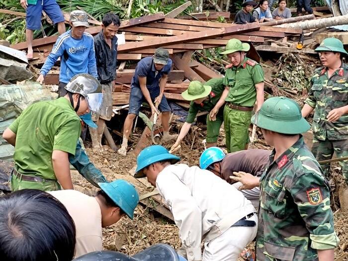 Danh tính 32 nạn nhân tử vong và mất tích vụ sạt lở ở Trà Leng - Ảnh 1