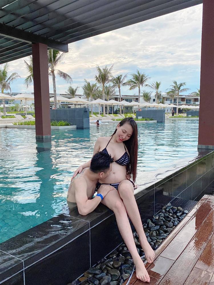 Hé lộ giới tính những cặp song thai chuẩn bị chào đời của showbiz Việt - Ảnh 4