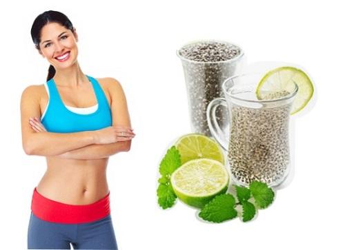 ăn hạt chia giảm cân 2