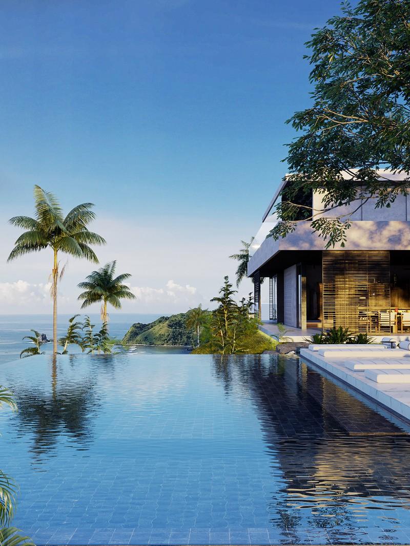 Biệt thự nghỉ dưỡng tuyệt đẹp bên bờ biển - Ảnh 2