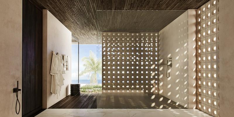 Biệt thự nghỉ dưỡng tuyệt đẹp bên bờ biển - Ảnh 13