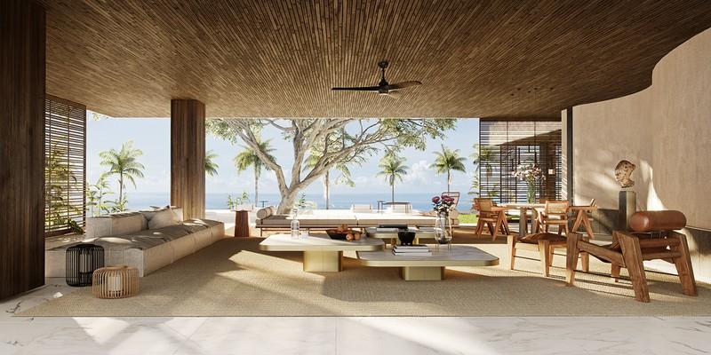 Biệt thự nghỉ dưỡng tuyệt đẹp bên bờ biển - Ảnh 5
