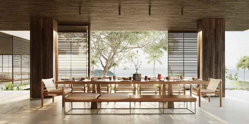 Biệt thự nghỉ dưỡng tuyệt đẹp bên bờ biển - Ảnh 7