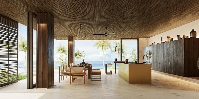 Biệt thự nghỉ dưỡng tuyệt đẹp bên bờ biển - Ảnh 8