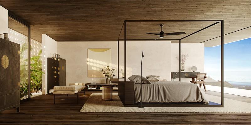Biệt thự nghỉ dưỡng tuyệt đẹp bên bờ biển - Ảnh 10