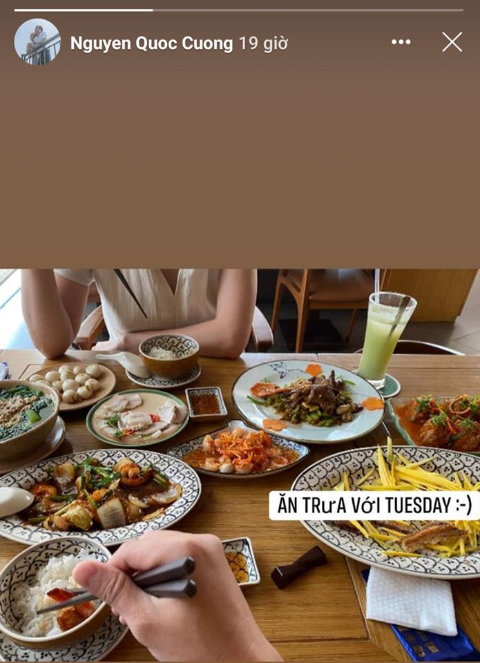 Cường Đô La công khai đi ăn với 'Tuesday' và sự thật khó đỡ - Ảnh 1