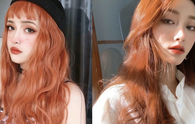 Hè đến nơi rồi, dại gì mà không thử tóc màu cam nổi trội - Ảnh 1