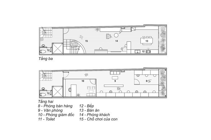 Ngôi nhà 'hai trong một' của giám đốc - Ảnh 16